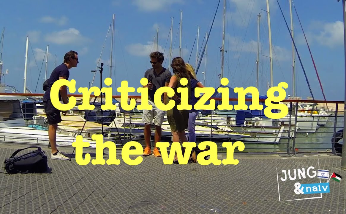 Criticizing the war – Jung & Naiv in Israel: Episode 193