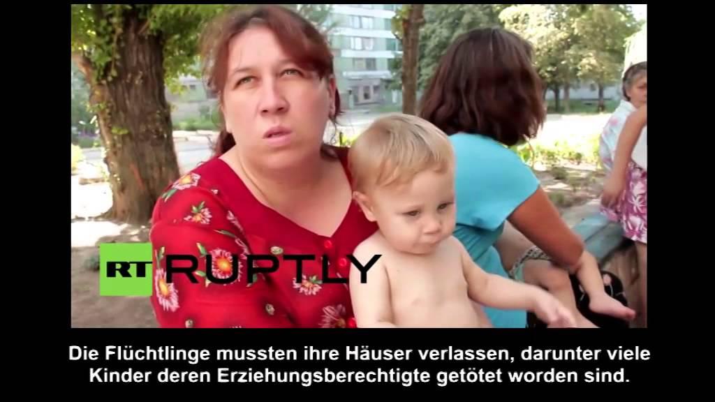 Flüchtlingsschicksale in der Ost-Ukraine