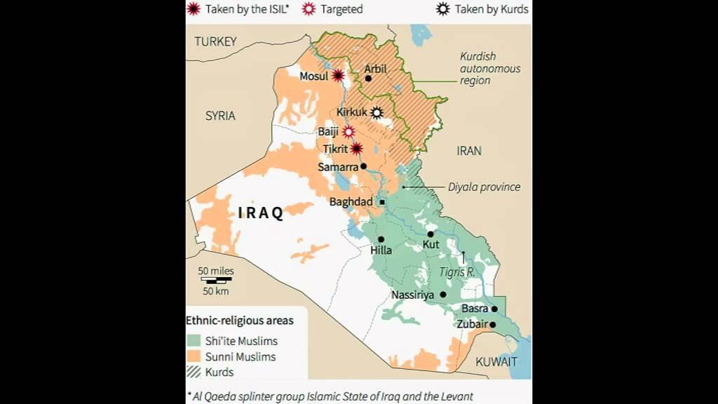ISIS-Terroristen im Nordirak – von Katar, Saudiarabien u.a. ausgestattet