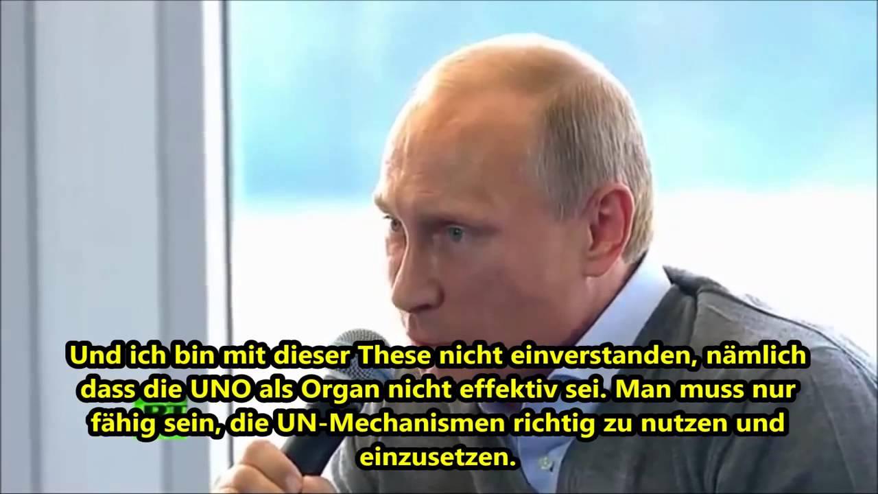 Putin: Die heutigen Deutschen tragen keine Schuld aus dem Zweiten Weltkrieg
