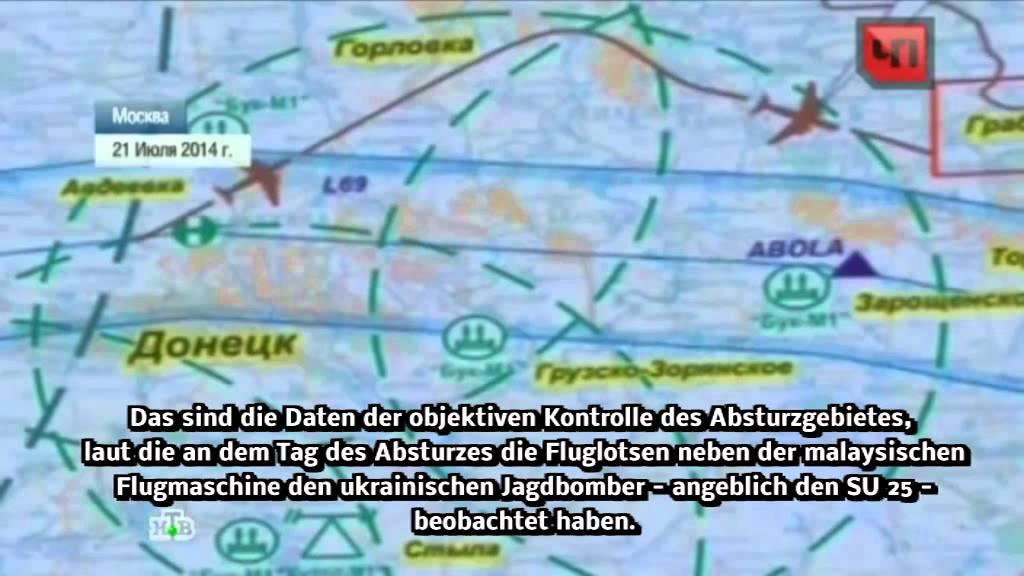Russischer TV Bericht: Kiew plante Abschuss von Flug MH17 lange im Voraus
