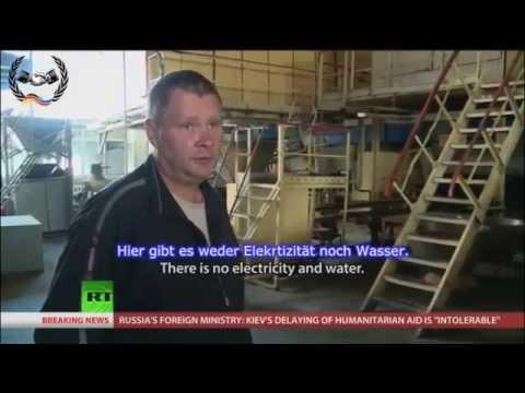 Russland: Lage in der Ost-Ukraine ist absolut entsetzlich ll RT deutsch