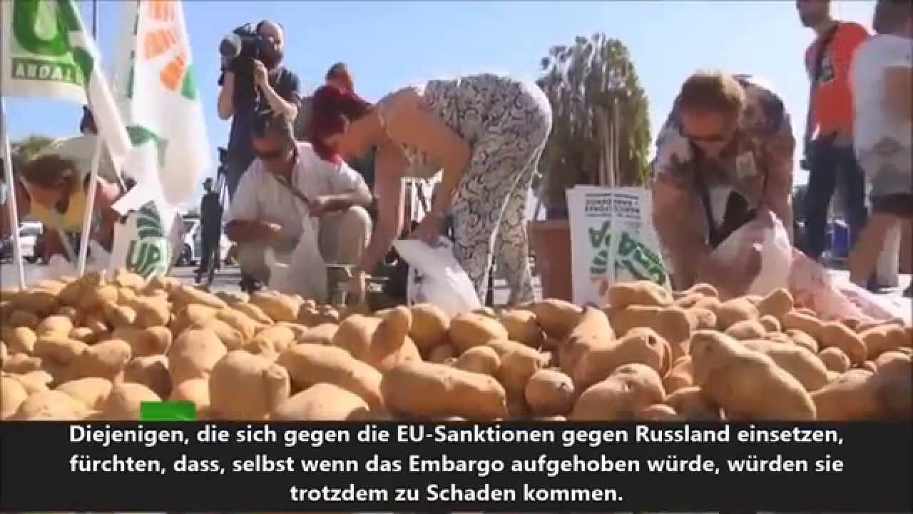 Sanktionen gegen Russland kosten die EU 6,7 Milliarden Euro jährlich ll RT deutsch