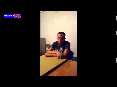 Verhör eines gefangenen ukrainischen Sodaten