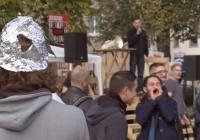 KenFM am Set: Friedens-Mahnwache Karlsruhe, 25.10.2014