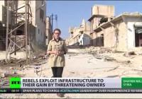 Die zerstörte Wirtschaftsmetropole Aleppo