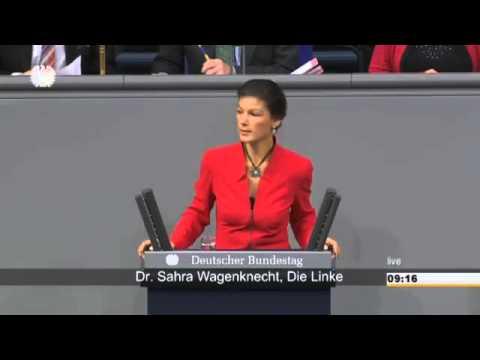 Sahra Wagenknecht: Okkulte Opferrituale und Nullkompetenz der GroKo 26.11.2014