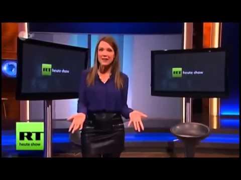 ZDF Heute-Show vs. RT-Deutsch – Kostenlose Werbung