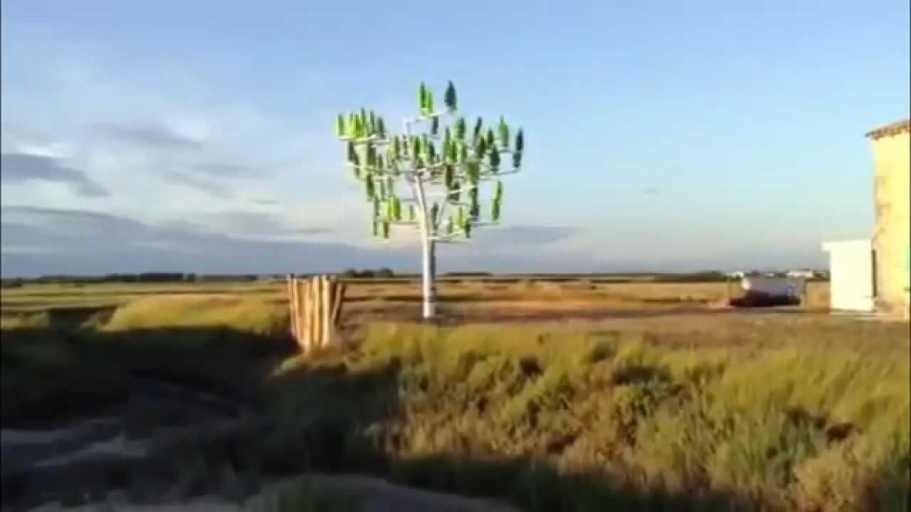 Der Windbaum – Weiteres vielversprechendes alternatives Energieprojekt