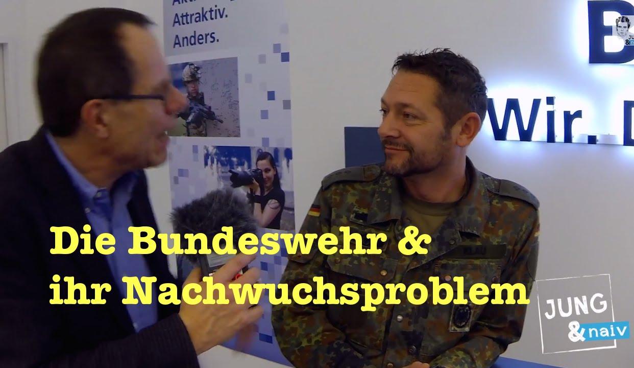 Im Showroom der Bundeswehr – Jung & Naiv: Folge 217