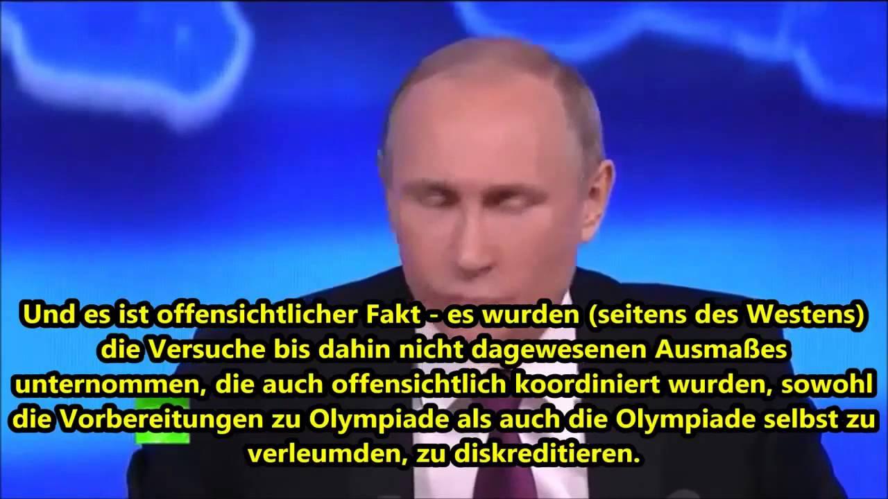 Russlands Präsident Putin – Auszüge der Jahres-Pressekonferenz in Moskau
