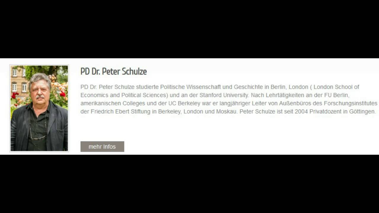 Ukrainekonflikt: Dr. Peter W. Schulze, Georg-August-Universität Göttingen (Stimme Russlands)