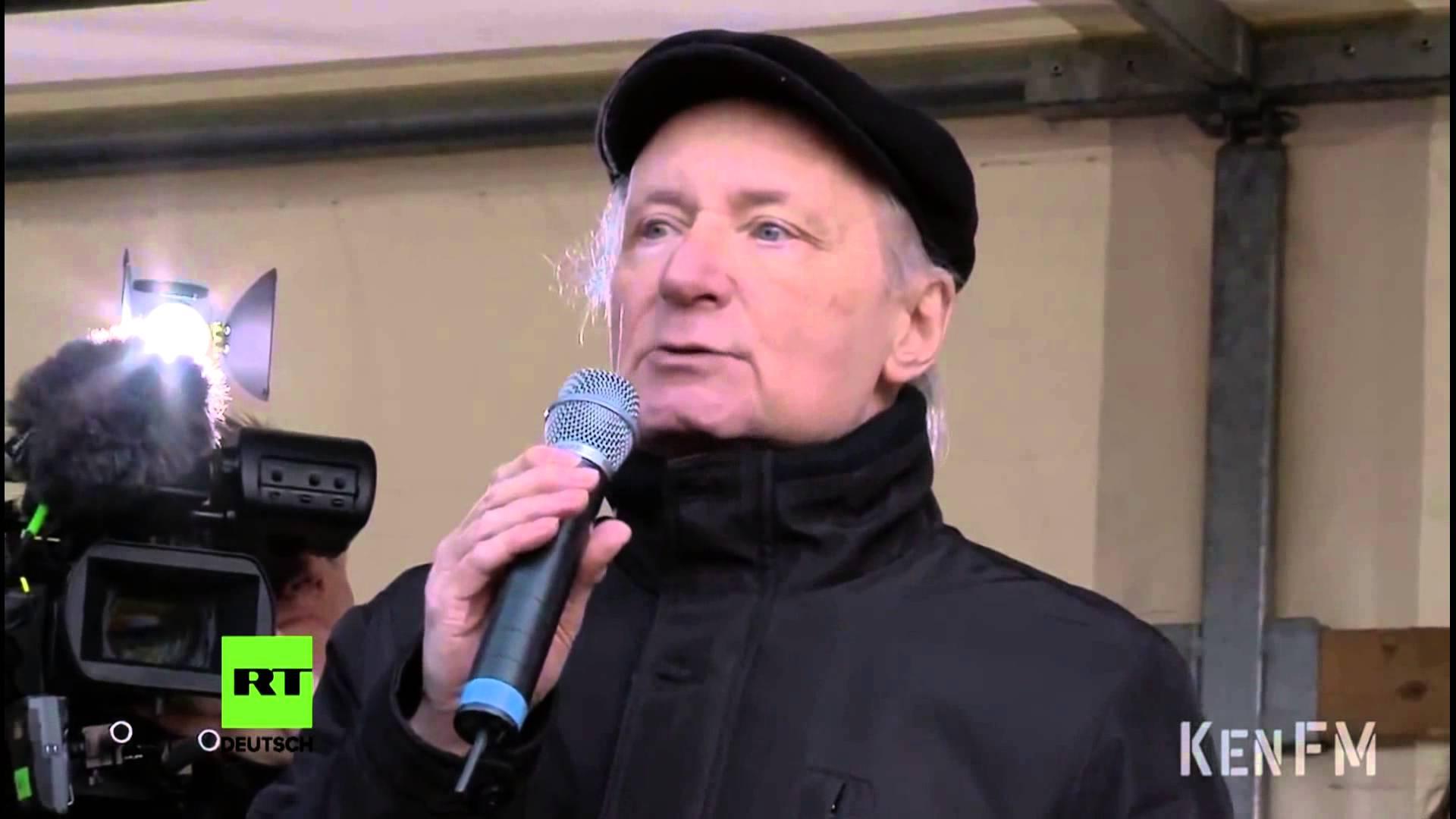 Wer hat Angst vor der Friedensbewegung? Dr. Dieter Dehm (MdB / Linke)