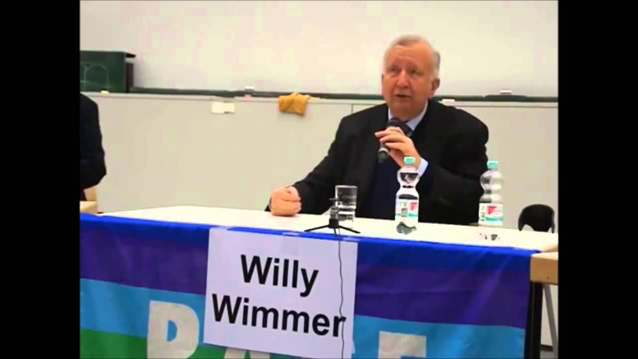 Willy Wimmer /CDU) . Krieg in Europa – Worum geht es in der Ukraine wirklich?