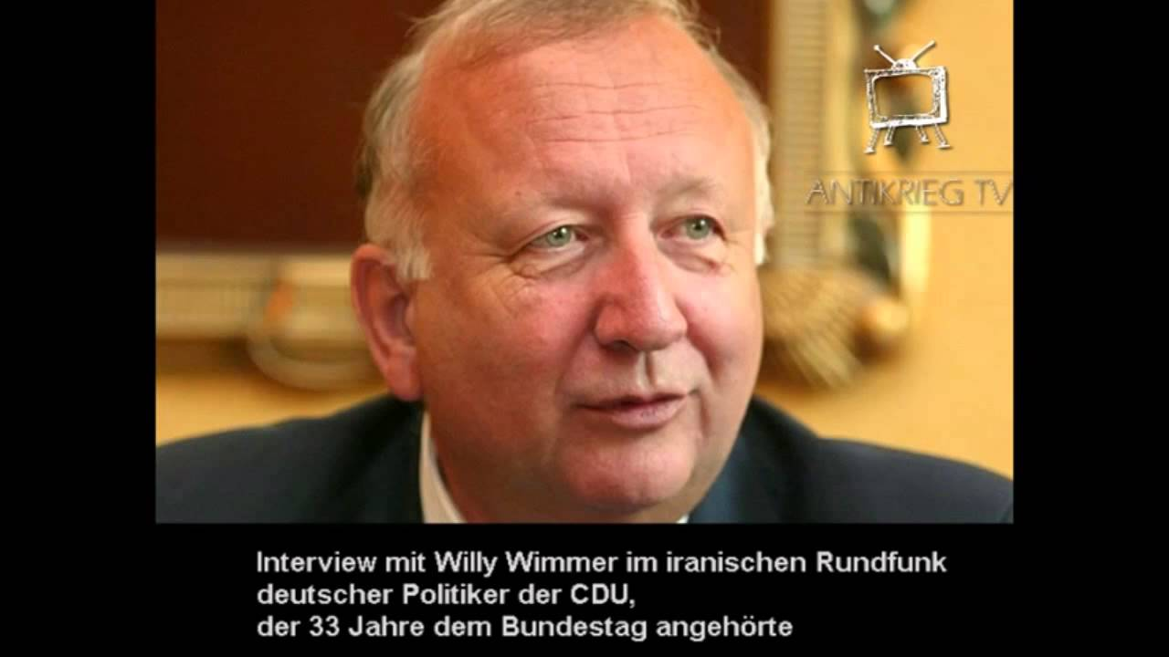 Willy Wimmer (CDU) – Kriegstreiber in den USA – iranisches Radio 18.12.14