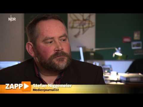 ZAPP Studie: Vertrauen in Medien ist gesunken (NDR Zapp 18.12.2014)
