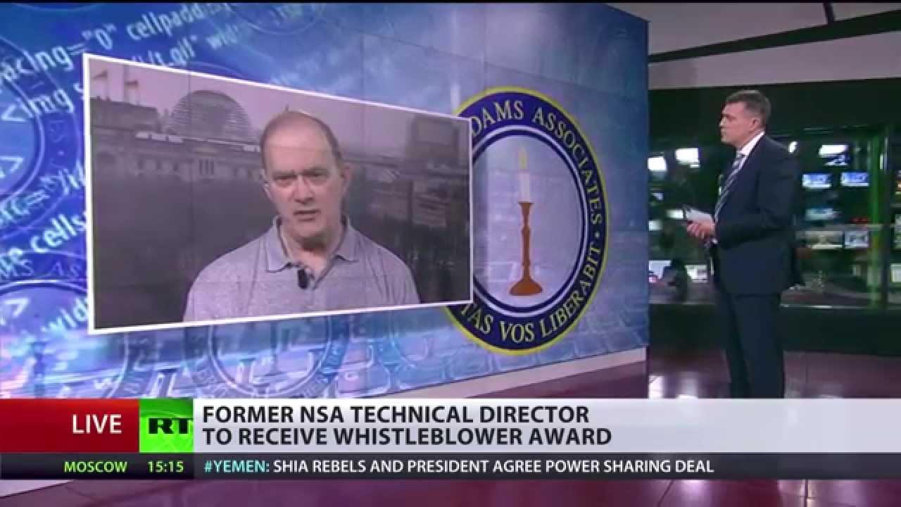 Exklusives RT-Interview mit ex-technischem Direktor der NSA – Nun Whistleblower