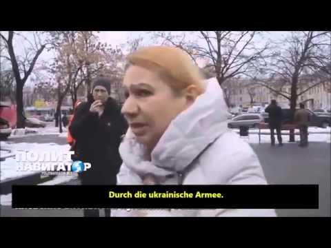 Hassausbruch in Kiew: Frau aus Lugansk wird als Lügnerin beschimpft