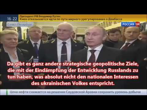Putin redet Klartext – NATO bereits in der Ukraine 27.1.15
