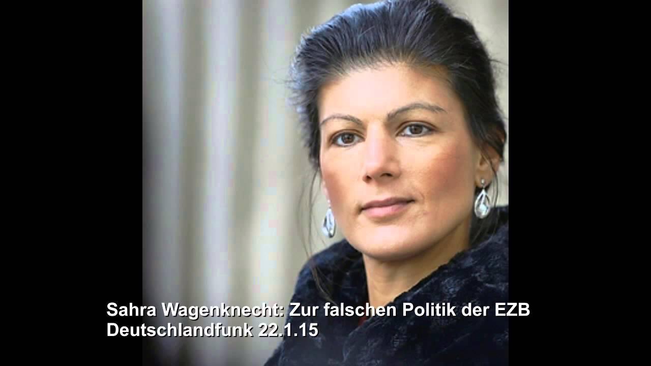 Sahra Wagenknecht: Zur falschen Politik der EZB l 22.1.15