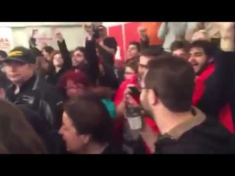 Syriza Wahlparty in Griechenland – Bella Ciao 25 Jan 2015