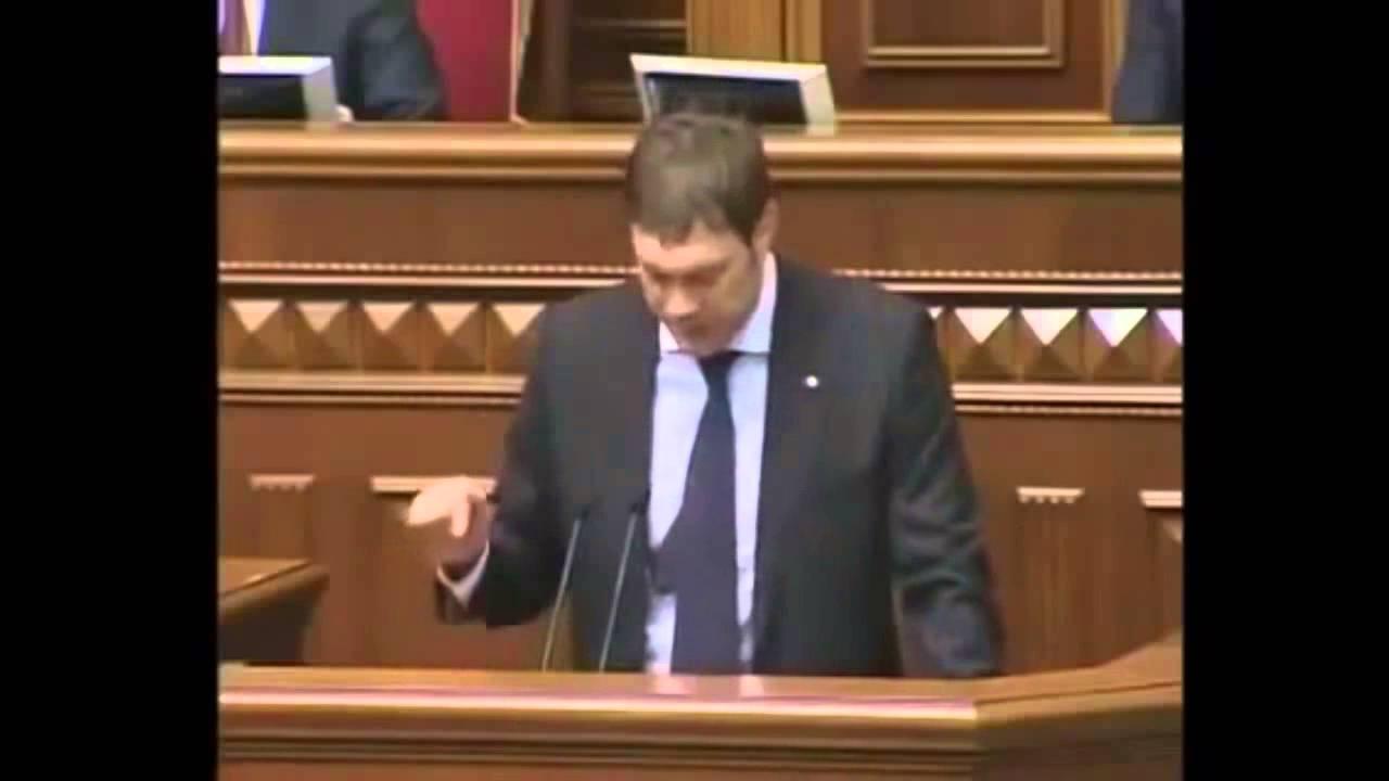Ukrainischer Politiker im Parlament über US-Putschpläne l November 2013