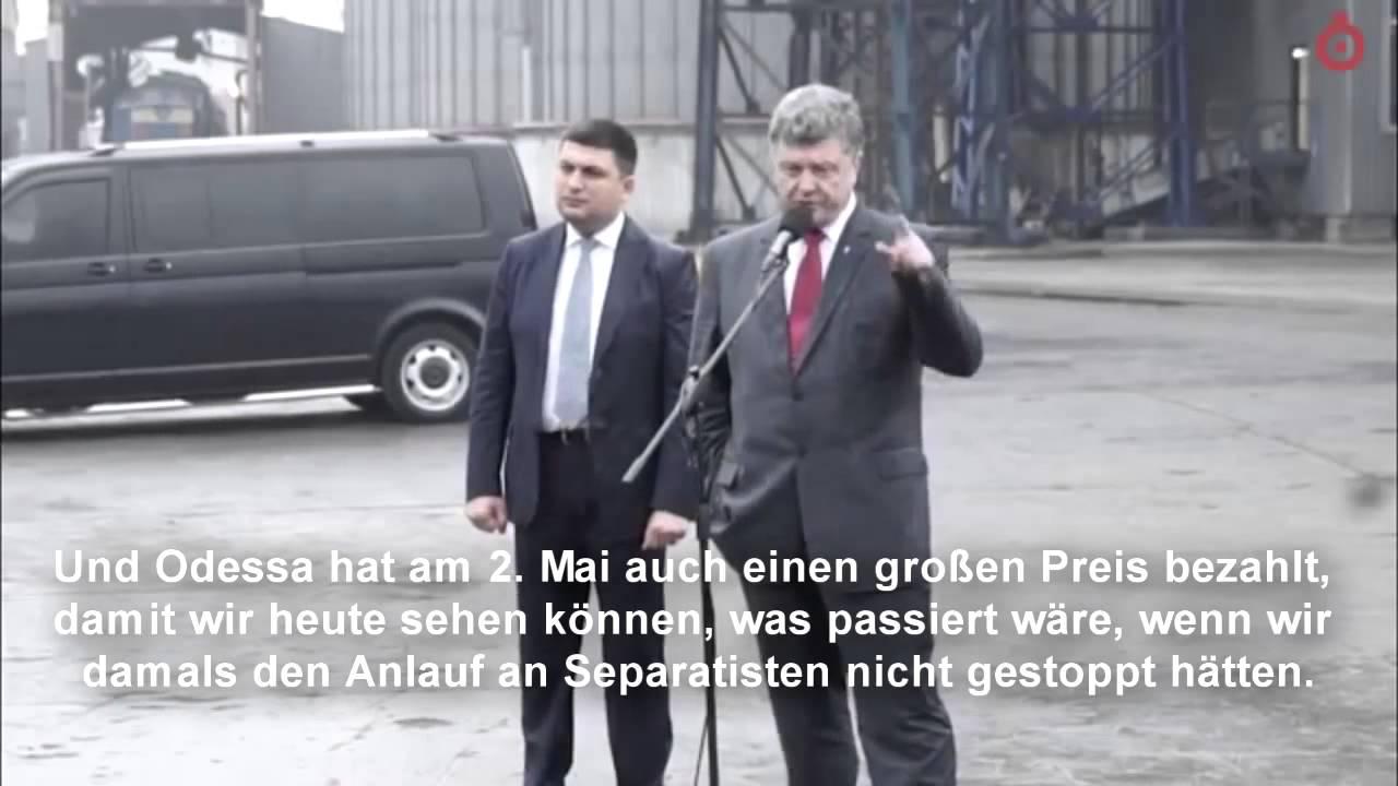 Ukrainischer Präsident ist stolz auf den Faschisten Bandera