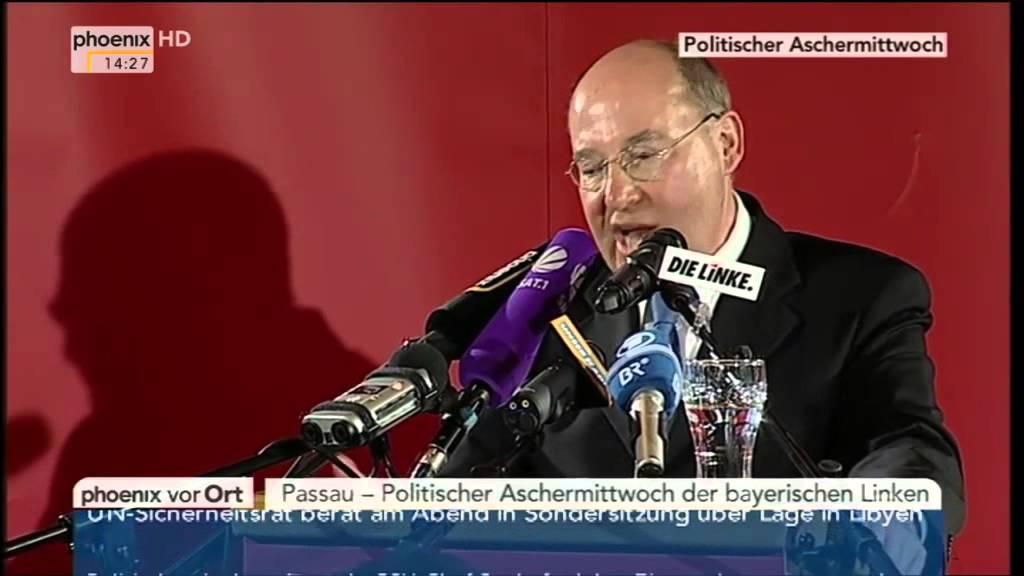 Gregor Gysi über die Ziehväter von ISIS, al-Nusra und al-Qaida