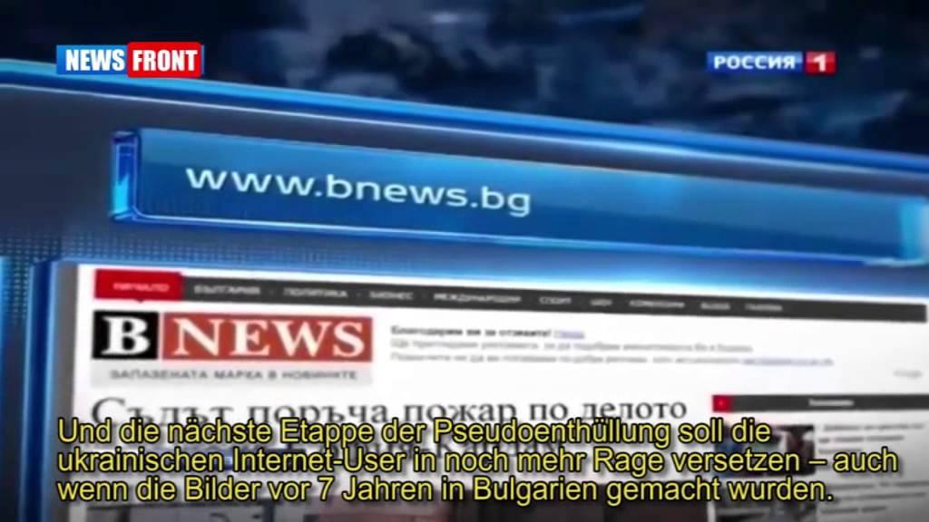 Ukrainische Cyberkrieger – Kriegspropaganda am Fliessband l Russ. TV