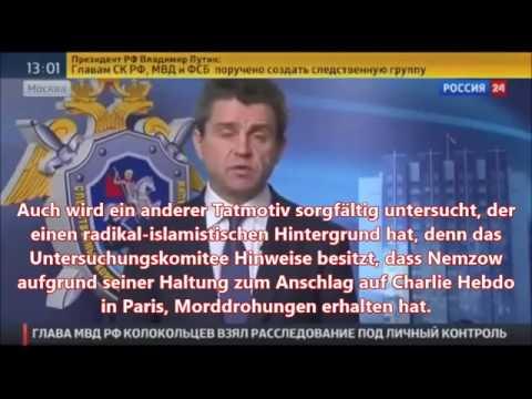 Boris Nemzov – russ. Ermittlungskomiteee über mögliche Mordmotive