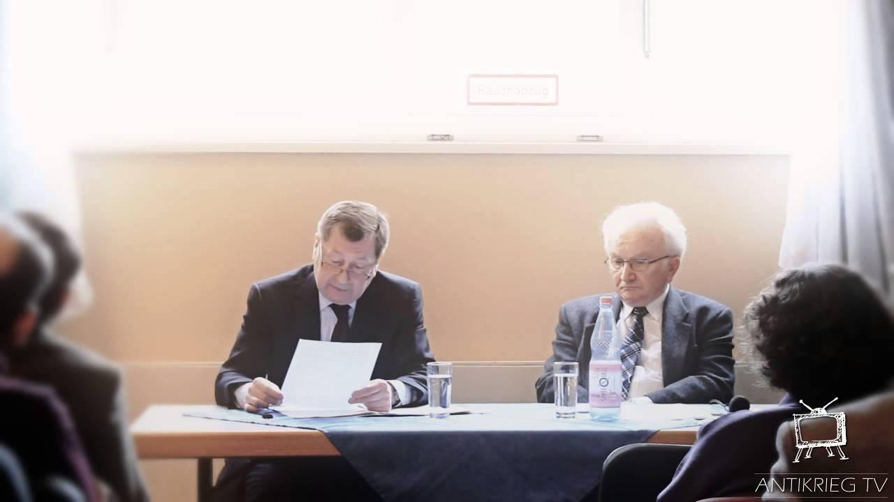 Die Außenpolitik Russlands – S.E. W. M. Grinin, Russlands Botschafter in Deutschland l antikriegTV
