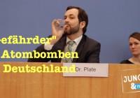 """Naive Fragen zu """"Gefährdern"""" & Atombomben in Deutschland"""