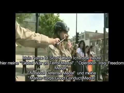 Nato Gipfel Chicago 2013 – US Kriegsveteranen werfen ihre Orden weg