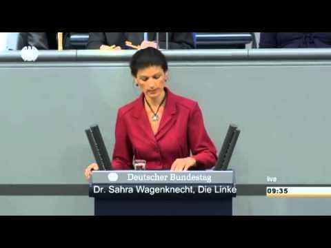 Sahra Wagenknecht, DIE LINKE: Griechenland, Ukraine, Russland