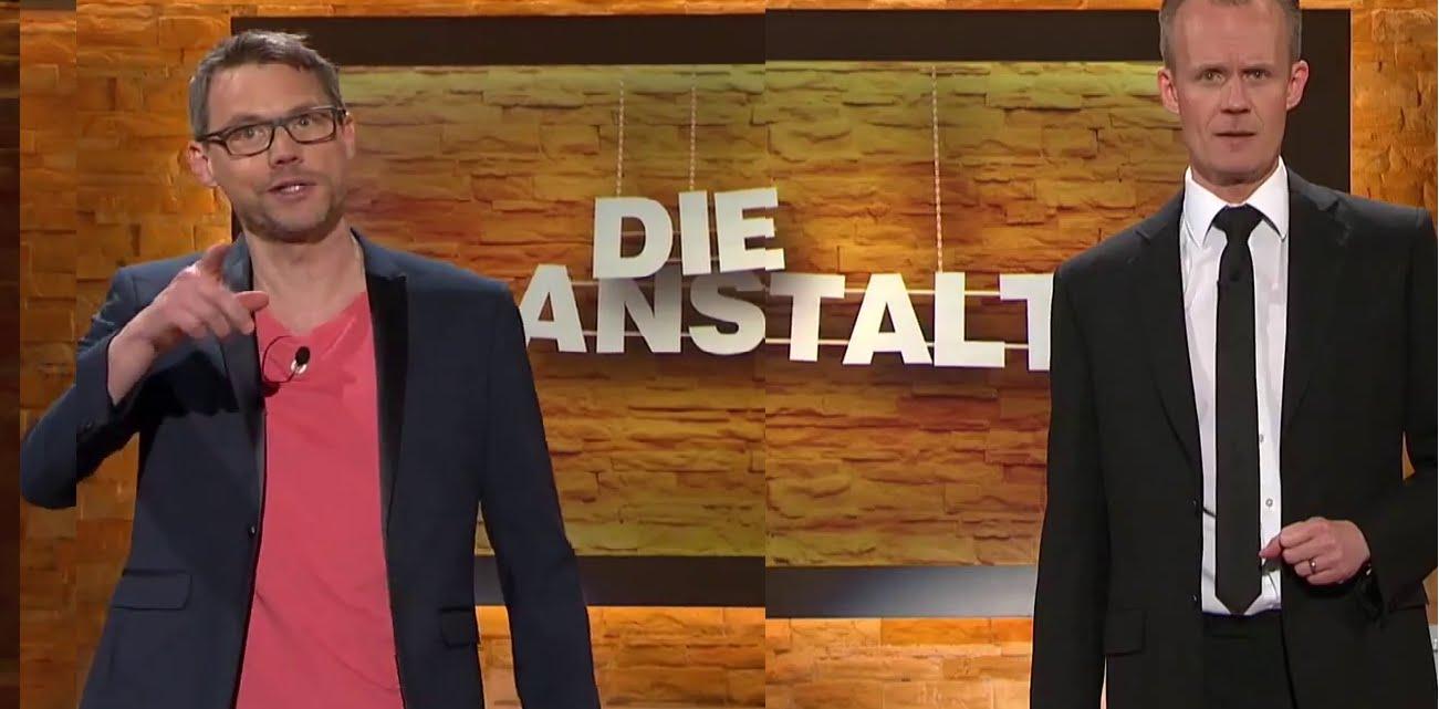 Die Anstalt: Christoph Sieber und Max Uthoff 28.04.2015 – Bananenrepublik
