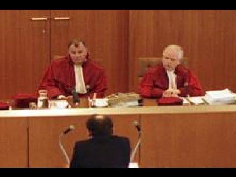 Prof. Winfried Hassemer (Verfassungsrichter) im Gespräch mit Michel von Tell