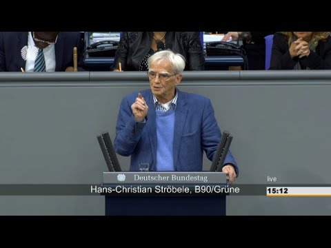 Freigabe der NSA-Selektoren-Liste – Hans-Christian Ströbele – Bundestag 21.05.2015 – Bananenrepubilk
