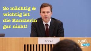 Bundesregierung: Die Kanzlerin ist gar nicht die Mächtigste!