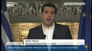 Die Ankündigung der Volksabstimmung zur Kürzungspolitik der Troika 27.06.2015 – Bananenrepublik