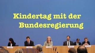 Kindertag: Fragen zu schwarzen Listen, Merkel, Ägypten, Mafia, Ramstein & Ukraine