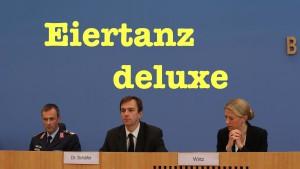 Naive Fragen zu Flüchtlingen, Atombomben, Griechenland, NATO & Waffen für Osteuropa