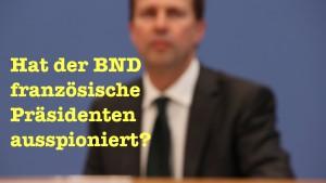 Steht die Kanzlerin etwa selbst auf der BND-Selektorenliste?