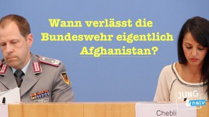 Wann verlassen deutsche Soldaten Afghanistan?