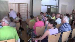 25. Pleisweiler Gespräch, Diskussion mit Malu Dreyer, Ministerpräsidentin von Rheinland-Pfalz