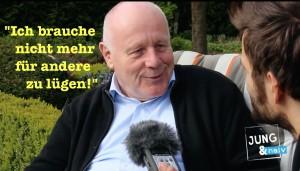 """Georg Milbradt (CDU): """"Ich brauche nicht mehr für andere Leute zu lügen"""""""