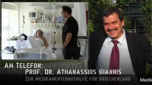 KenFM am Telefon: Prof. Dr. Athanassios Giannis zum aktuellen Stand der Medikamenten-Nothilfe