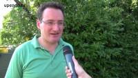 Matthias Köchl zur Situation vor der Asylwerber-Zeltstadt in Krumpendorf