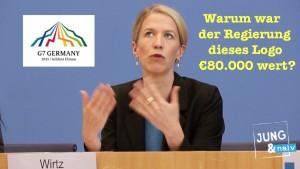 Realsatire: Warum war das G7-Gipfel-Logo der Bundesregierung €80.000 wert?