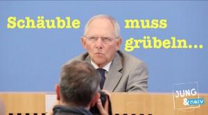 Schäuble muss nachdenken: Gibt's bald eine Mehrwertsteuersenkung?