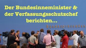 So viele Gefahren: Vorstellung des Verfassungsschutzberichts 2014